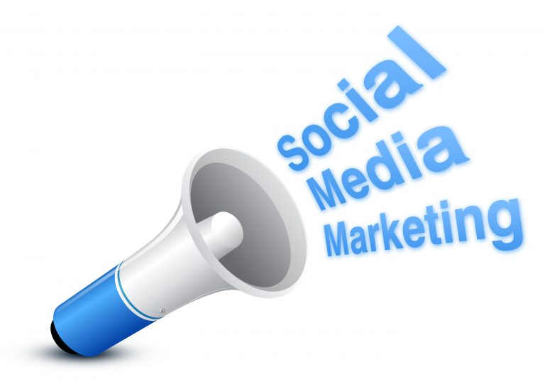 Social media marketing loudspeaker